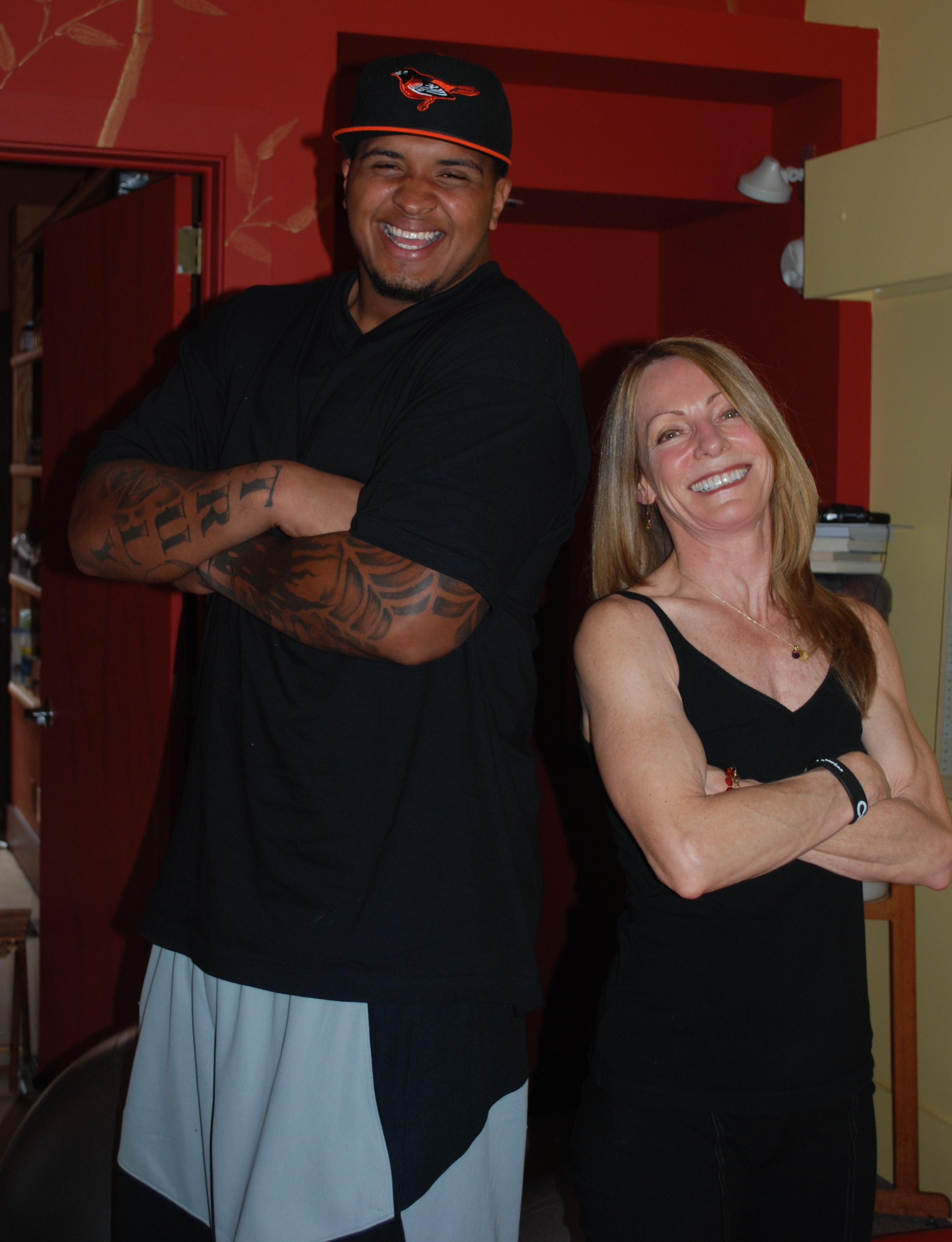 Maurkice Pouncey at Pittsburgh Personal Training Studio