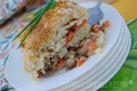 Baked Potato, Tempeh and Carrot Casserole