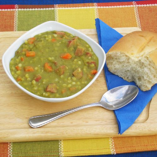 Barley Split Pea Soup