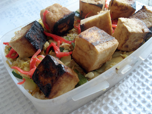 Crisp Fried Tofu