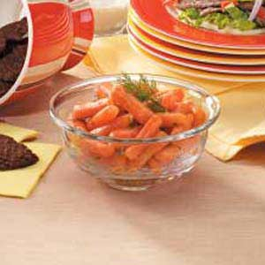 Mustardy Glazed Carrots