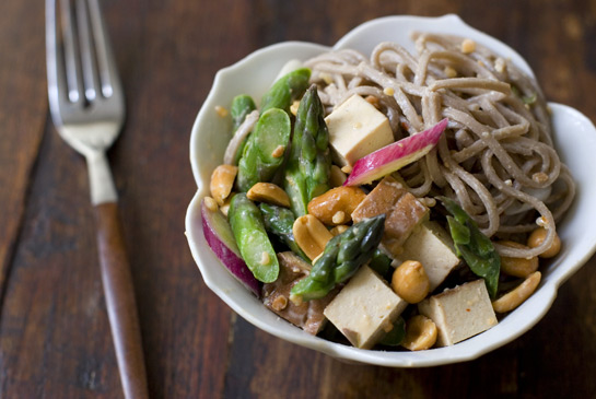 Peanut Sesame Noodles With Tofu Mariname