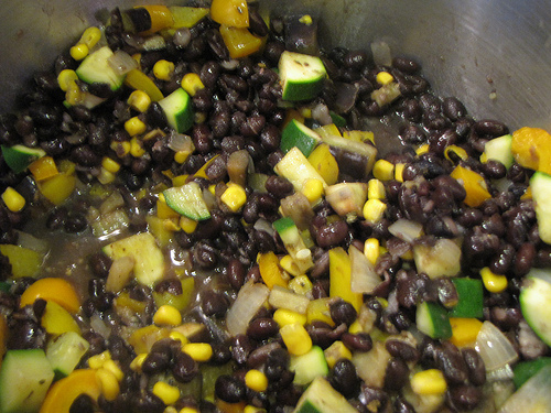 Black Bean Vegetable Chile