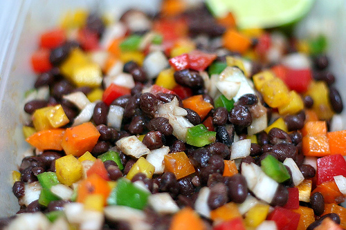 Black Bean Salad With Miso Sauce