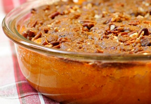 Mashed Yams with Brown Sugar and Spice