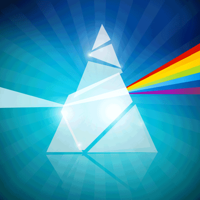 Prism with distortion